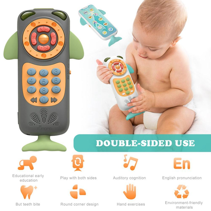 Tumama-Baby-Toy-Mobile-Phone-Baby-Multi-Function-Remote-Control-Puzzle-Earl-N6U1 thumbnail 3