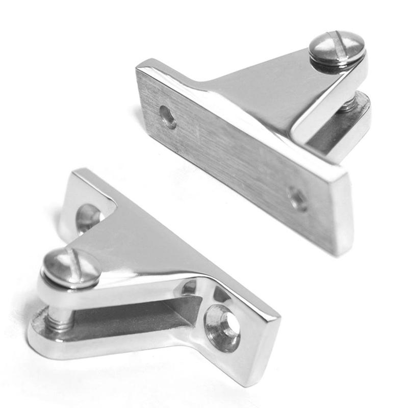 4pcs Boot Bimini Top Deck Scharnier Edelstahl mit abnehmbaren Pin