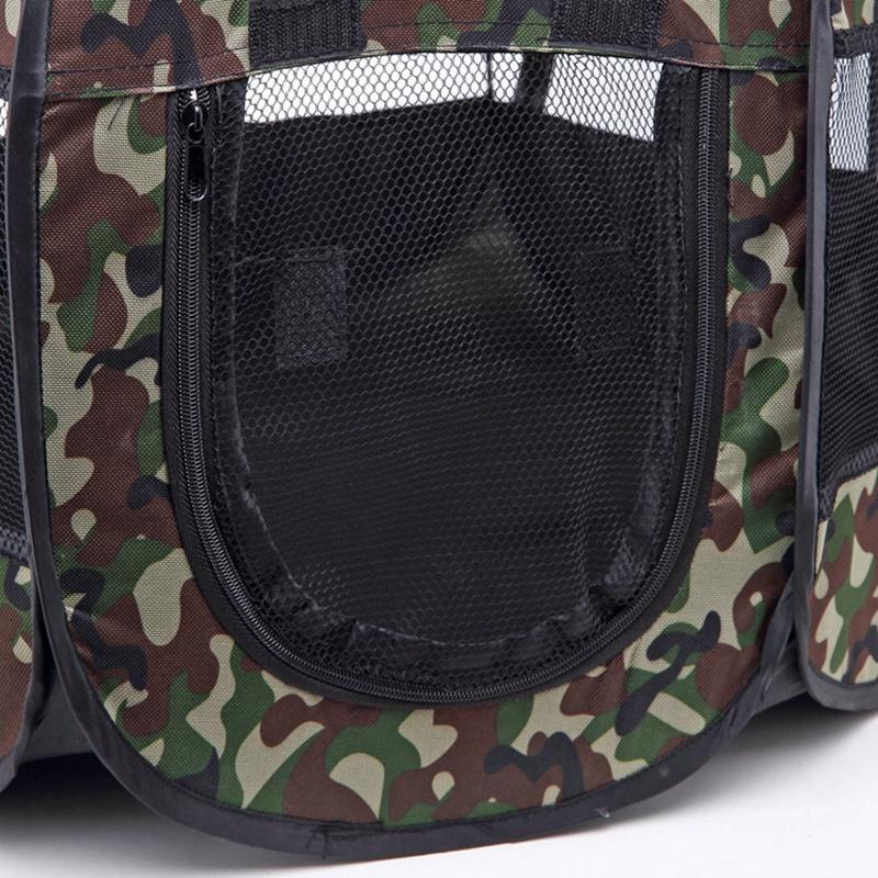 Portable-Folding-Pet-Tent-Dog-House-Cage-Dog-Cat-Tent-Playpen-Puppy-Kennel-D9T1 thumbnail 23