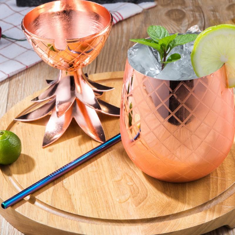 Royal-Hawaiian-Pineapple-Cup-Tumbler-Beer-Mug-L5B6 thumbnail 4