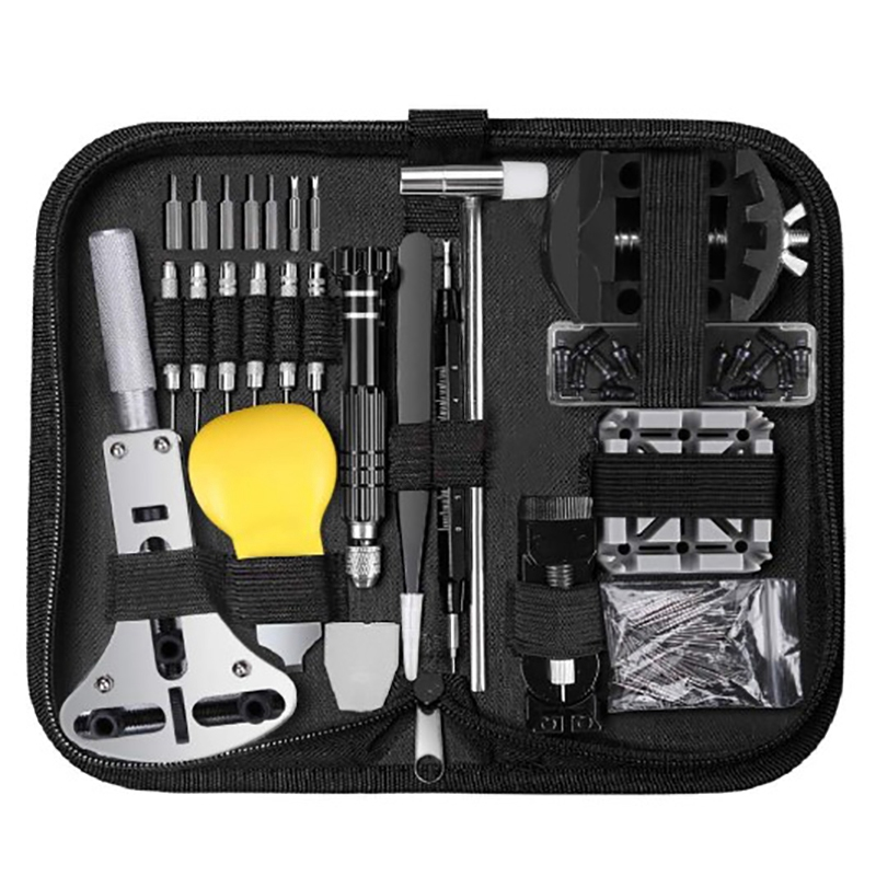 153-Pcs-Watch-Repair-Kit-Professional-Spring-Bar-Tool-Set-Watch-Battery-Repl-W91