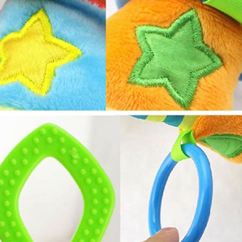 HAPPY-MONKEY-NinOs-Handbells-Sonajeros-Juguetes-Bebe-Juguetes-Blandos-Desar-V1O5 miniatura 10
