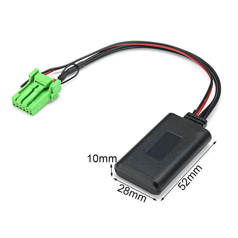 3X(Bluetooth Interface Adapter Music Aux In Module For