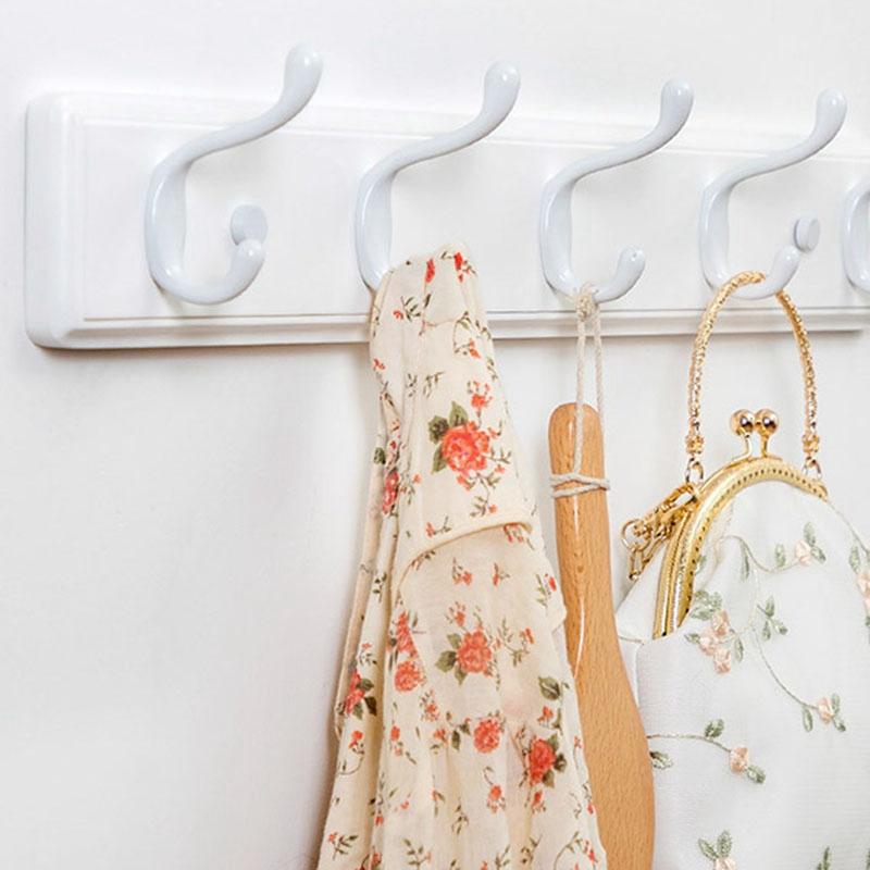 1X-Wood-Coat-Hook-Natural-Wall-Hanger-Hook-Hat-Clothes-Bag-Rack-Storage-SheY6G3 thumbnail 6