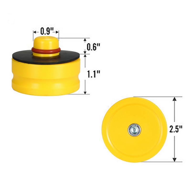 1-StueCk-Jack-Lift-Point-Pad-Adapter-Gummi-fuer-Alle-Tesla-Model-3-Modelle-S9Y8 Indexbild 4