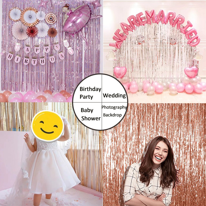 thumbnail 38 - Happy-Birtay-Decorations-for-Wedding-amp-Events-Team-Bride-Party-Background-C3Y4