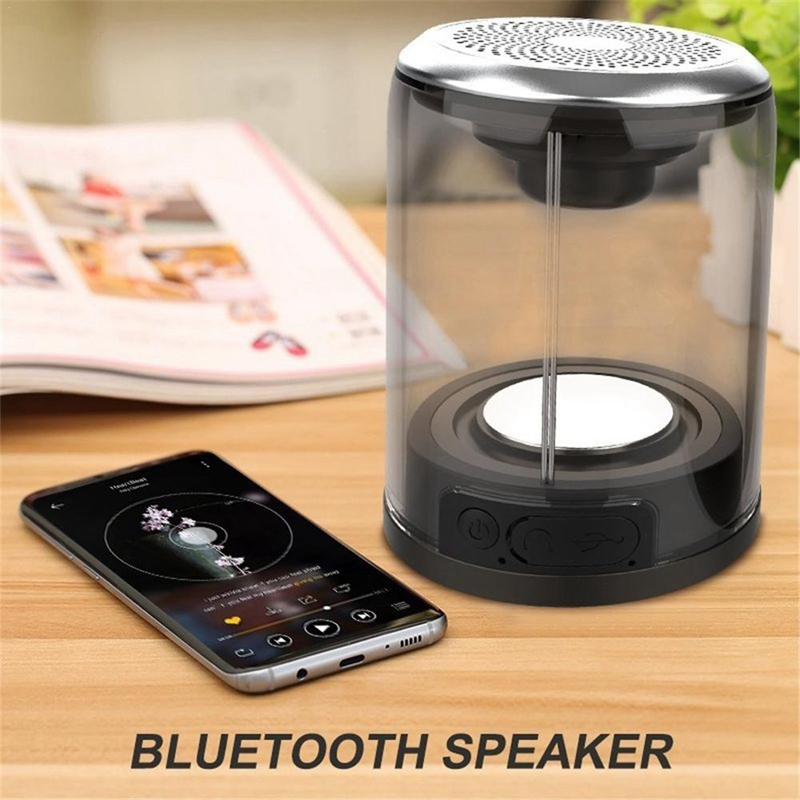 TWS Waterproof Magnetic Suction Bluetooth Outdoor Speaker Wireless Super Bass