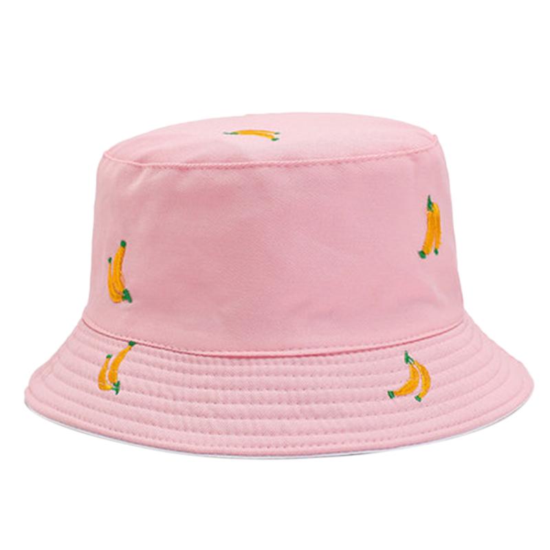1X-Sombrero-de-PlaTano-de-Doble-Cara-Sombrero-de-Pescador-Femenino-Sombrero-X5U9 miniatura 24