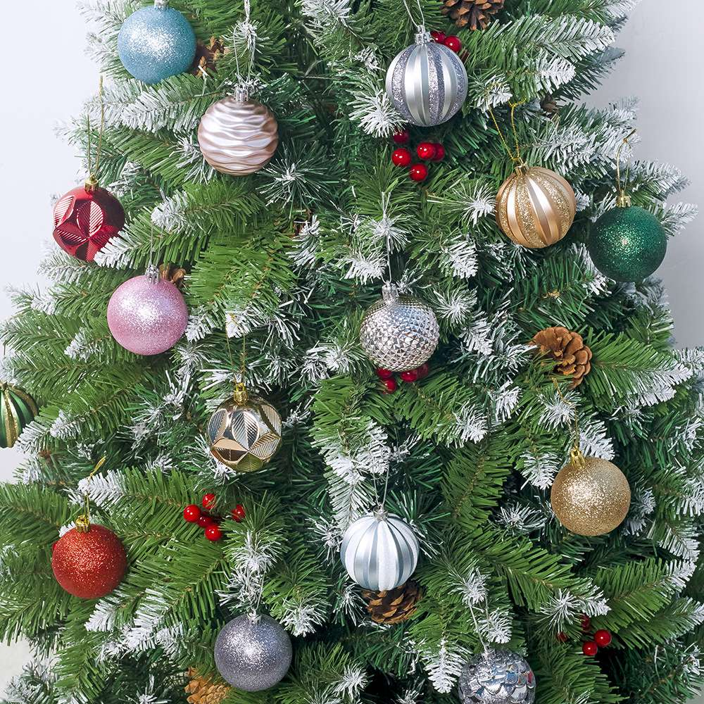 12Pcs-Christmas-Tree-Decor-Ball-55Mm-Bauble-Xmas-Party-Hanging-Ball-Christm-P7J5 thumbnail 5
