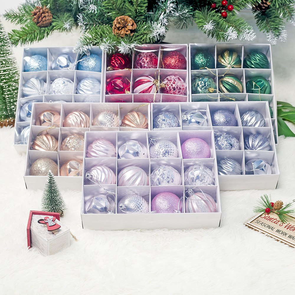 12Pcs-Christmas-Tree-Decor-Ball-55Mm-Bauble-Xmas-Party-Hanging-Ball-Christm-P7J5 thumbnail 7