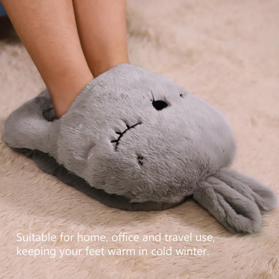 Electric-Heating-Pad-Warm-Feet-Baby-Shoes-Warm-Feet-Flexible-Cartoon-Heatin-Z7R2 thumbnail 4