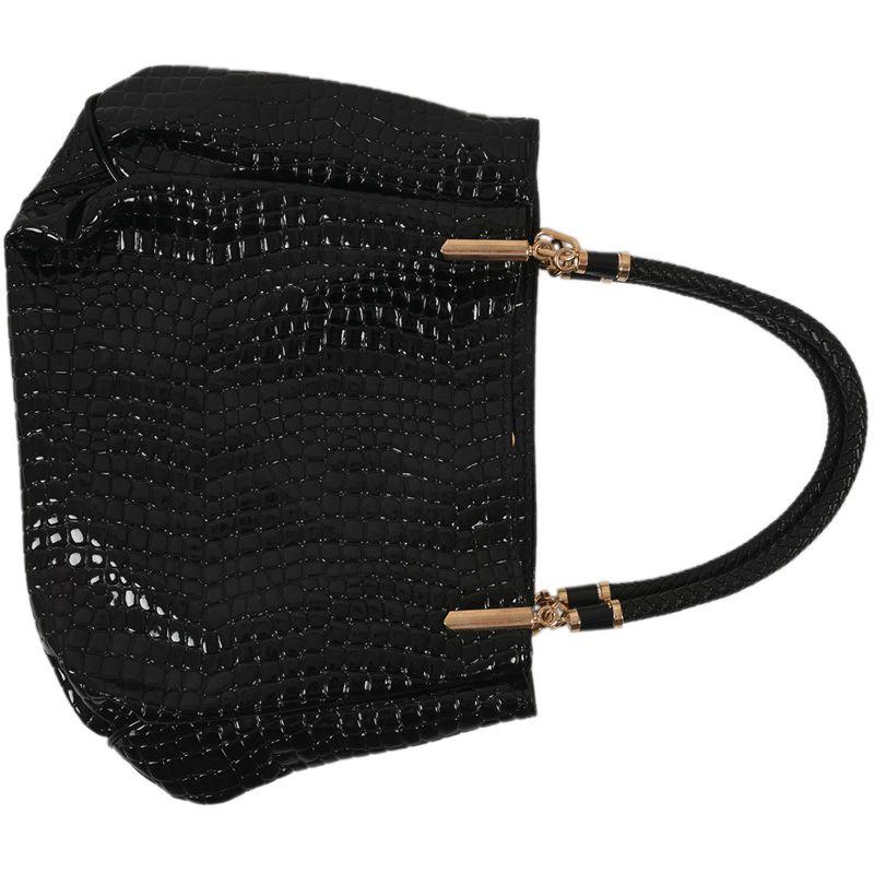 thumbnail 5 - Fashion-Women-Crocodile-Pattern-Leather-Shoulder-Bag-Female-Tote-Handbag-Y7J2