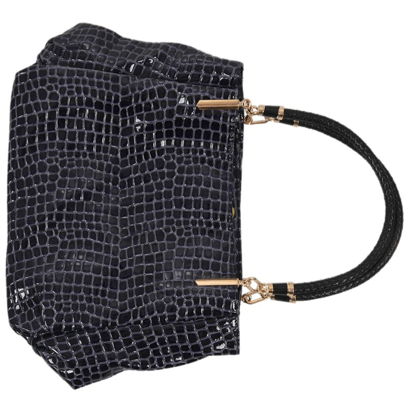thumbnail 11 - Fashion-Women-Crocodile-Pattern-Leather-Shoulder-Bag-Female-Tote-Handbag-Y7J2