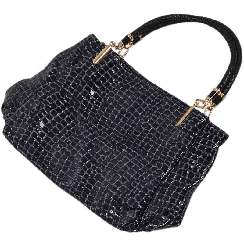 thumbnail 12 - Fashion-Women-Crocodile-Pattern-Leather-Shoulder-Bag-Female-Tote-Handbag-Y7J2