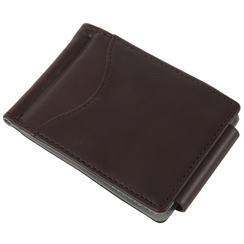 Ultra-thin-Slim-Men-Leather-Money-Clip-Wallets-ID-Credit-Card-Holder-Coin-P-K8D4 thumbnail 8