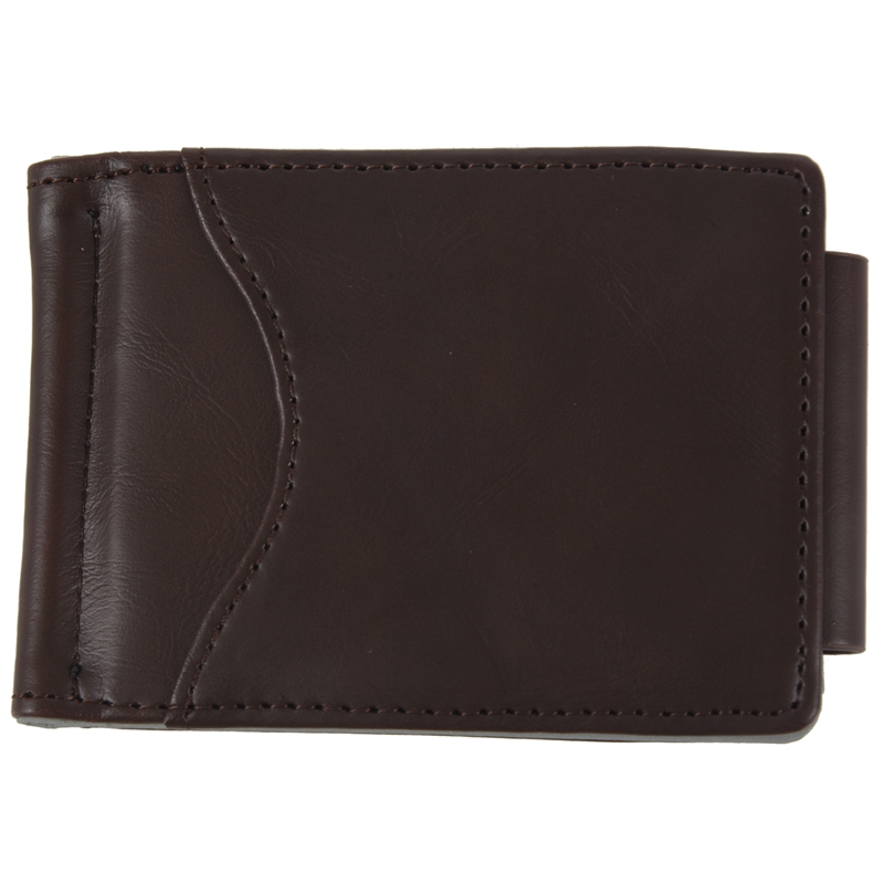 Ultra-thin-Slim-Men-Leather-Money-Clip-Wallets-ID-Credit-Card-Holder-Coin-P-K8D4 thumbnail 9