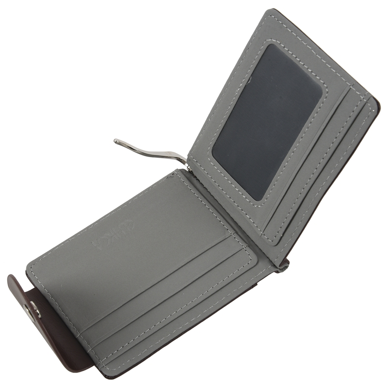 Ultra-thin-Slim-Men-Leather-Money-Clip-Wallets-ID-Credit-Card-Holder-Coin-P-K8D4 thumbnail 13