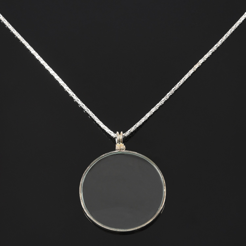 2X-necklace-glass-lens-loupe-magnifying-glass-pendant-necklace-pendant-MagnL7L1 thumbnail 17