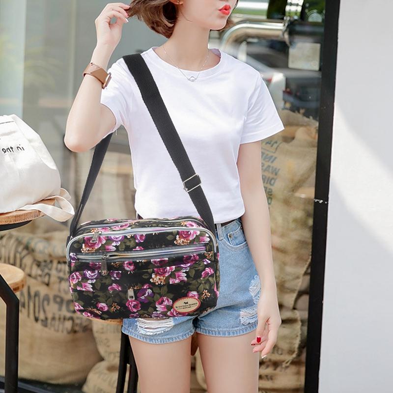 2X-Fashion-Printing-Women-Messenger-Bags-Canvas-Sport-Bags-Mummy-Bag-Ladies2D6 thumbnail 4