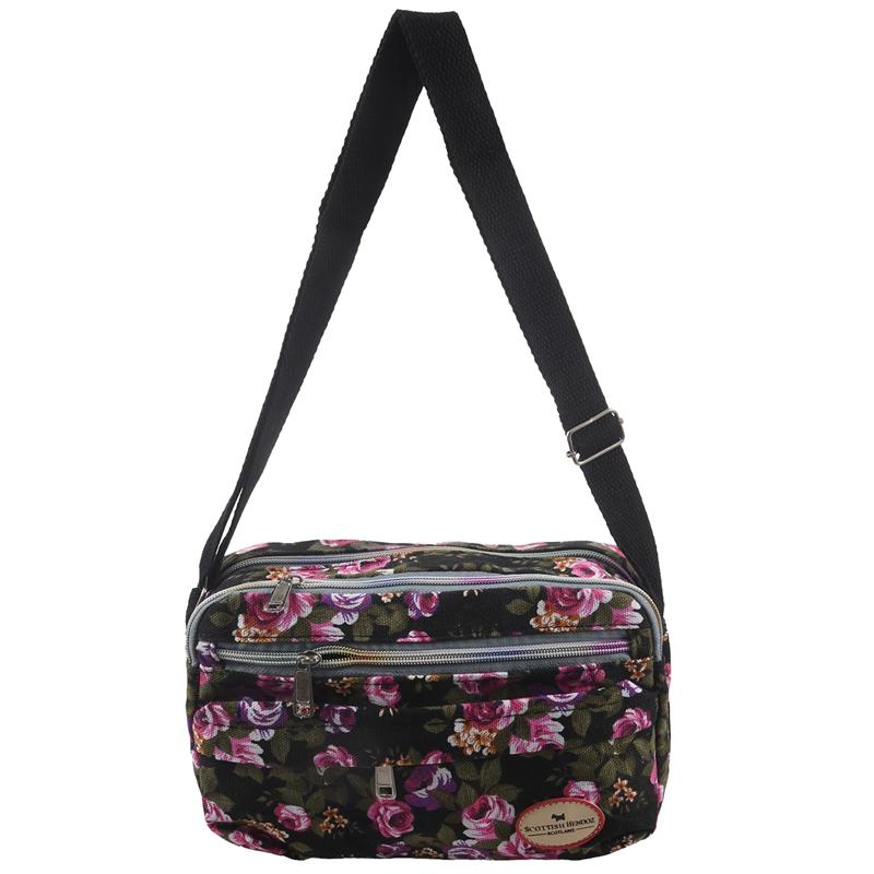 2X-Fashion-Printing-Women-Messenger-Bags-Canvas-Sport-Bags-Mummy-Bag-Ladies2D6 thumbnail 6