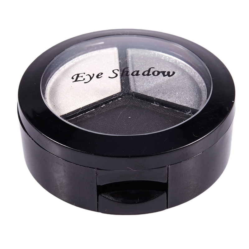 miniatuur 4 - Professional Smoky Cosmetic Set 3 Colors Natural Matte Eyeshadow Makeup Too J5E7