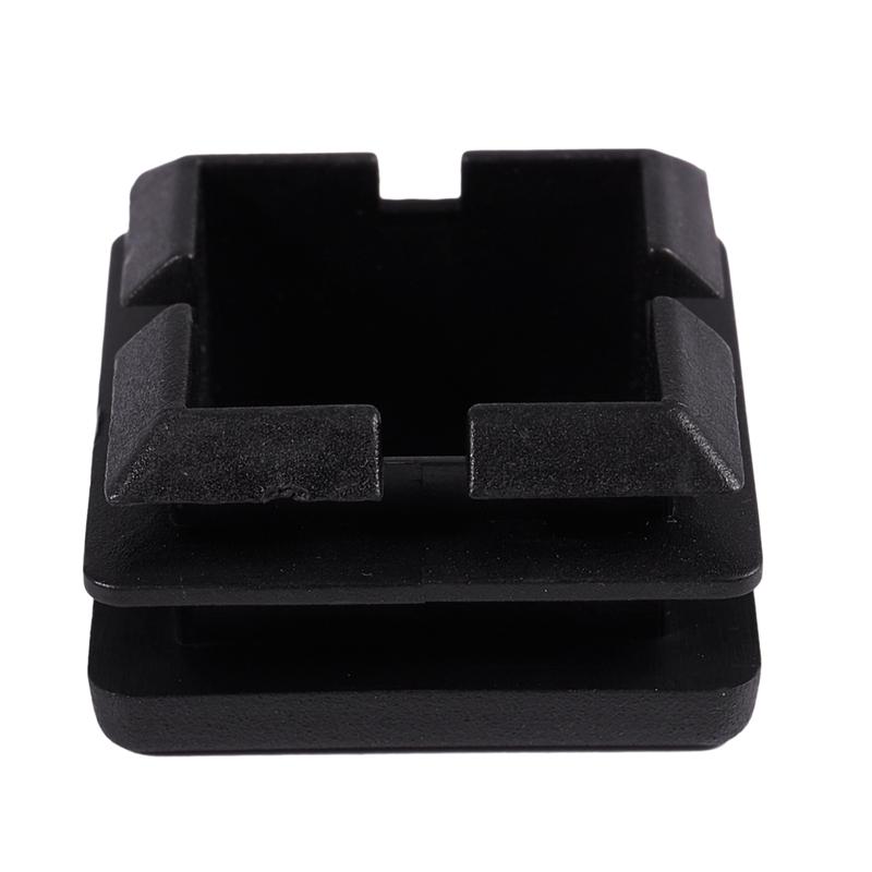Square-Table-Chair-Leg-Feet-Tube-Pipe-Insert-Cap-30pcs-Black-T1F6 thumbnail 11