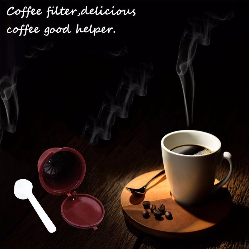 i cafilas 4 pezzi Dolce Gusto di plastica riutilizzabile Capsula di caffe/'  K6K7