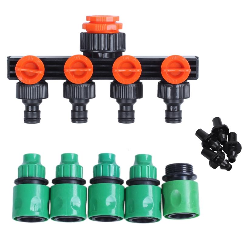 R SODIAL Connecteur//adaptateur Y de tuyau en laiton 3 voies Dia interieur 8mm