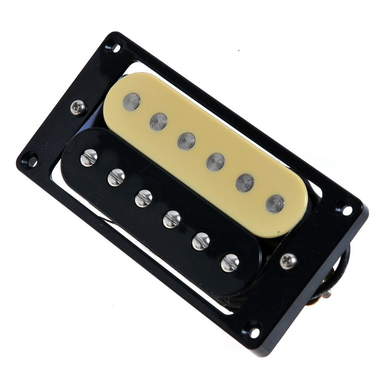 4-Electric-Guitar-Pickups-50-52-Zebra-Faced-Humbucker-Double-Coil-Pickup-N4D8 thumbnail 7