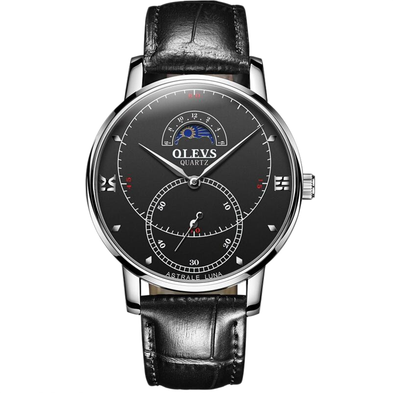 OLEVS-Simple-Fashion-Men-039-s-Watch-Men-039-s-Watch-Quartz-Watch-Waterproof-Men-G1U4 thumbnail 23