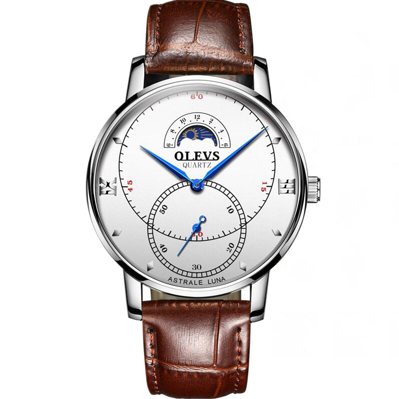 OLEVS-Simple-Fashion-Men-039-s-Watch-Men-039-s-Watch-Quartz-Watch-Waterproof-Men-G1U4 thumbnail 43