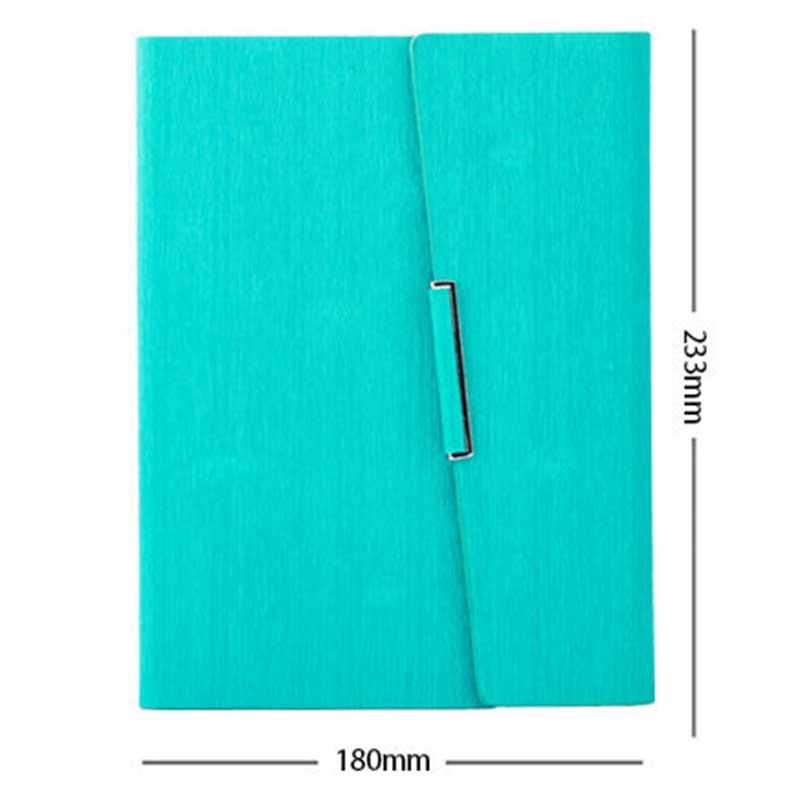 Cuaderno-de-Hojas-Sueltas-A5-PapeleriA-Cuaderno-de-Oficina-de-Negocios-de-Cuero miniatura 3