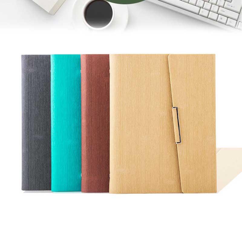 Cuaderno-de-Hojas-Sueltas-A5-PapeleriA-Cuaderno-de-Oficina-de-Negocios-de-Cuero miniatura 4
