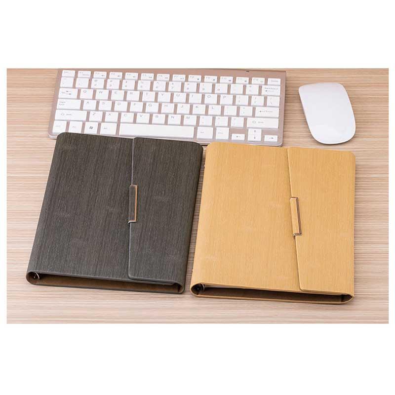 Cuaderno-de-Hojas-Sueltas-A5-PapeleriA-Cuaderno-de-Oficina-de-Negocios-de-Cuero miniatura 14