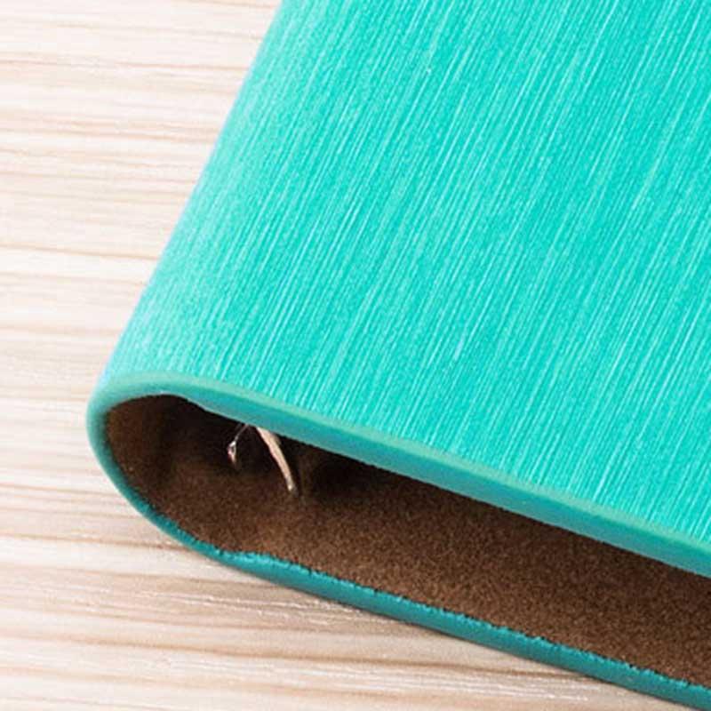 Cuaderno-de-Hojas-Sueltas-A5-PapeleriA-Cuaderno-de-Oficina-de-Negocios-de-Cuero miniatura 36