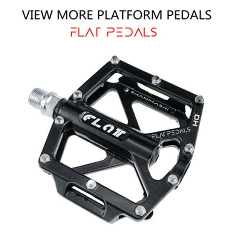 Shanmashi Par Aleación de Aluminio 3Bearing Carretera Montaña Bicicleta Pedales