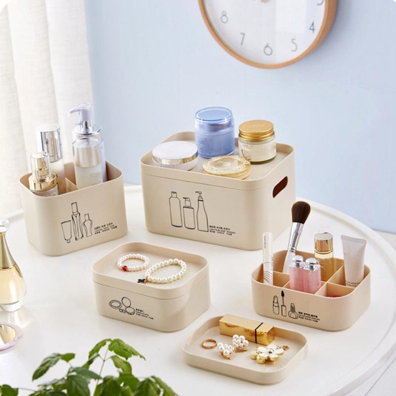 4-Unids-Set-Organizador-de-Maquillaje-para-CosmeTicos-Caja-de-Almacenamie-U9I5 miniatura 5