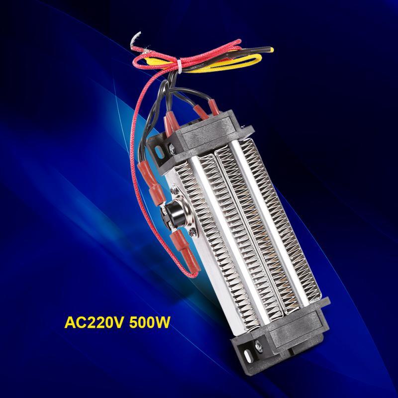 PTC-Heaters-Thermostatic-Heating-AC-220V-500W-Multipurpose-Multifunction-Ai-V4A7 thumbnail 2