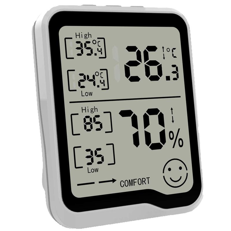 274417A1 1 - HigróMetro y TermóMetro Digital con Medidor de Humedad y Temperatura con Pan F1R