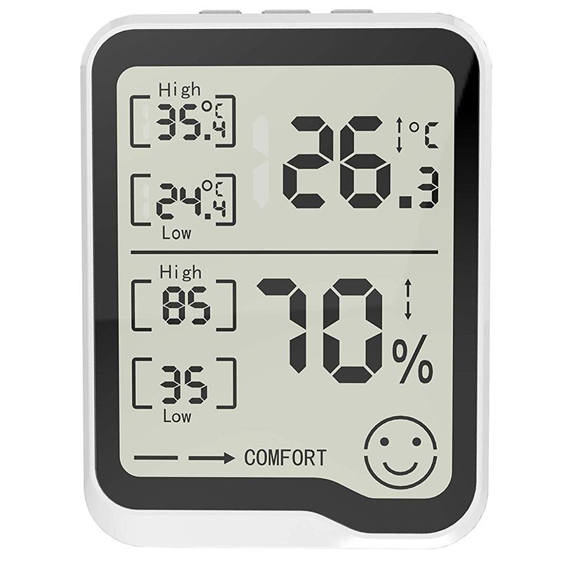 274417A1 8 - HigróMetro y TermóMetro Digital con Medidor de Humedad y Temperatura con Pan F1R