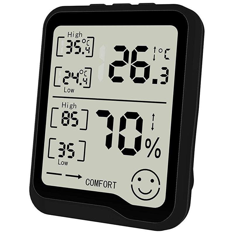 274417A2 4 - HigróMetro y TermóMetro Digital con Medidor de Humedad y Temperatura con Pan F1R