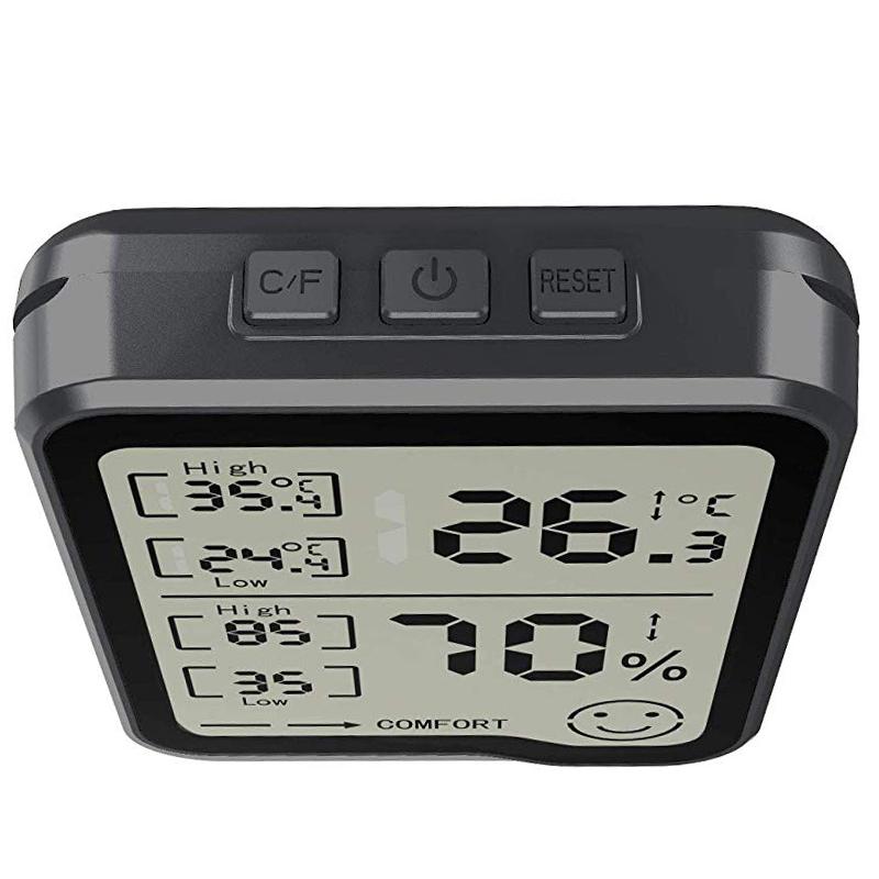 274417A2 7 - HigróMetro y TermóMetro Digital con Medidor de Humedad y Temperatura con Pan F1R