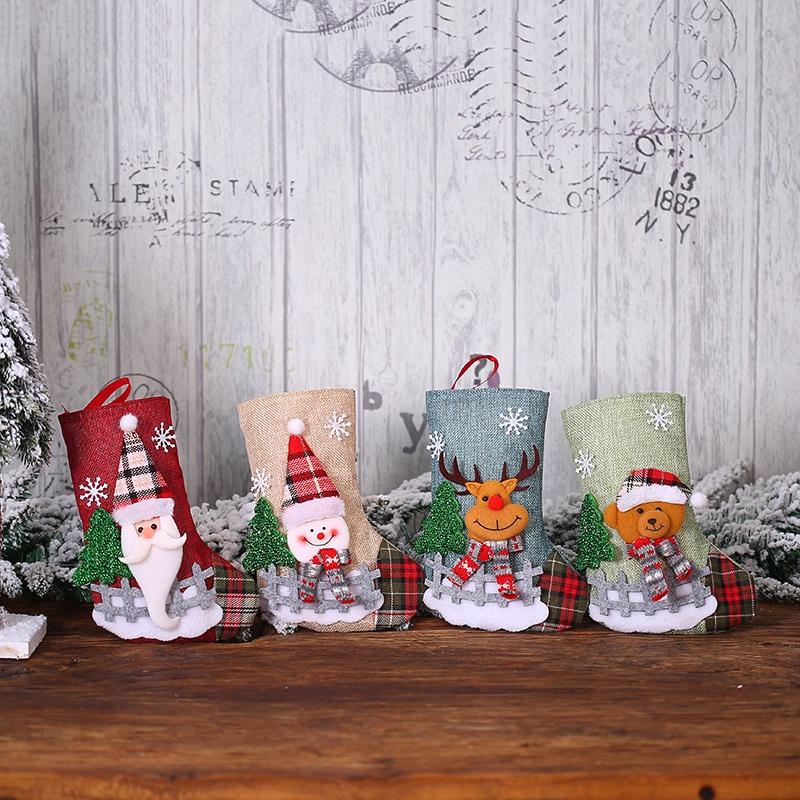 Nikolaus Chaussettes Noël santa Claus accessoires Chaussette Cadeau Neuf 10 pièce