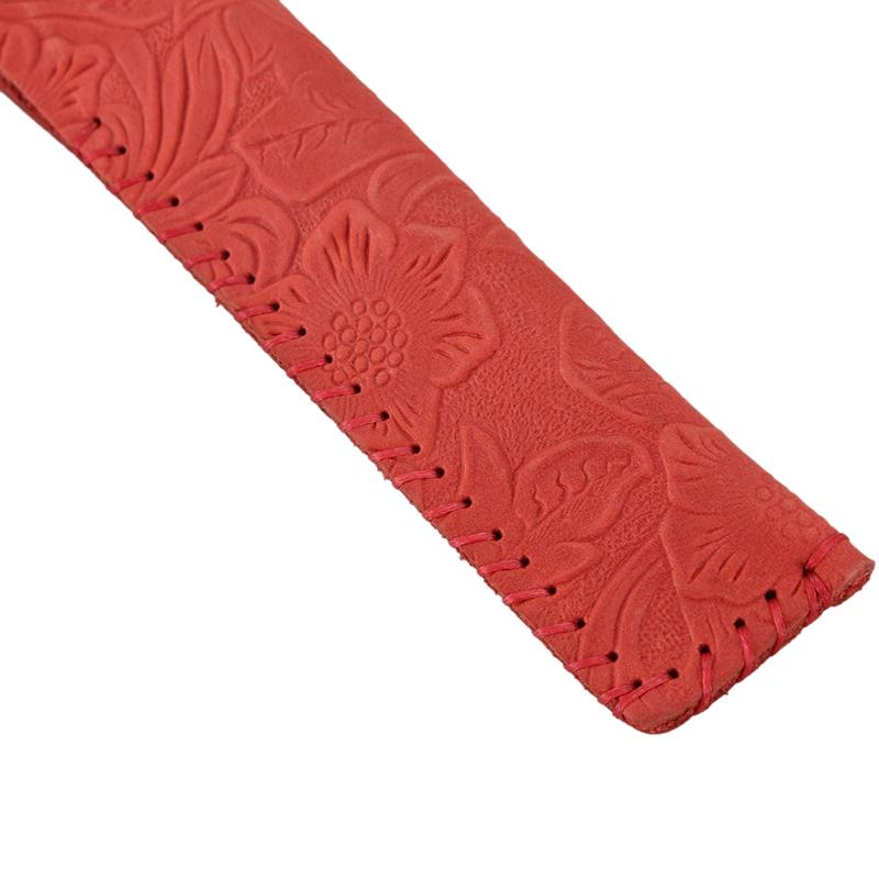 Vintage-Carving-Design-Genuine-Leather-Single-Pen-Case-Holder-for-Students-J2P6 thumbnail 17