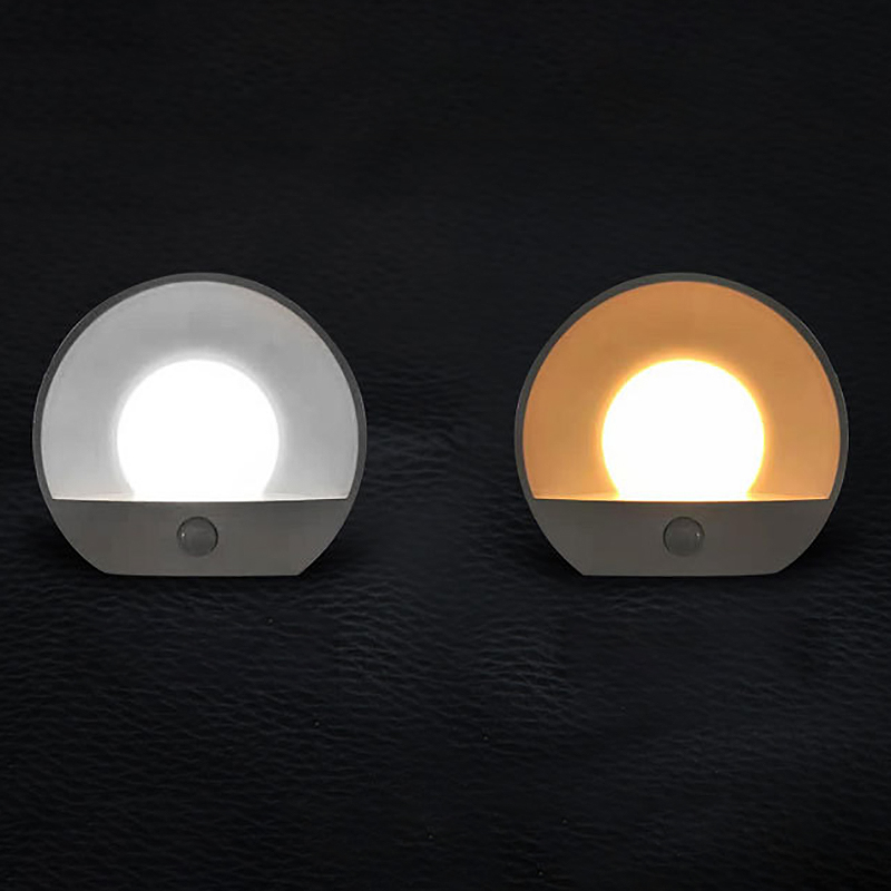 A09-2-LED-Corridor-Night-Light-Infrared-Remote-Control-Body-Motion-Sensor-S-T8I3 thumbnail 7