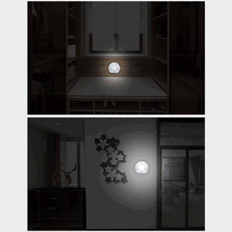 A09-2-LED-Corridor-Night-Light-Infrared-Remote-Control-Body-Motion-Sensor-S-T8I3 thumbnail 8