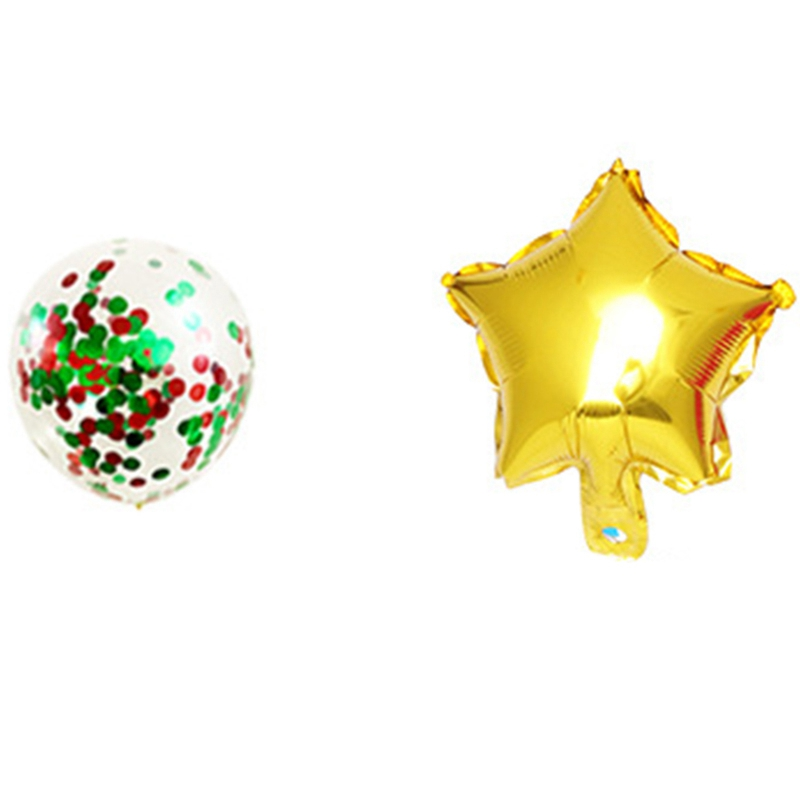 1X-1Set-Merry-Christmas-Letter-Banner-Party-Balloons-Decoration-Red-and-GreQ9K5 thumbnail 7