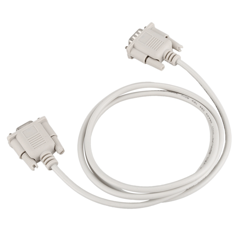 RS232 DB9 9 Pin Male to Female Serial Port Cable Industrial LSapter 1.3M LS G2K5