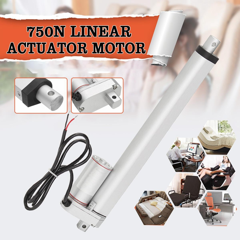 750N-4-18-Inch-330Lbs-Dc12V-Electric-Motor-Linear-Actuator-for-Lectric-O5J7 thumbnail 9