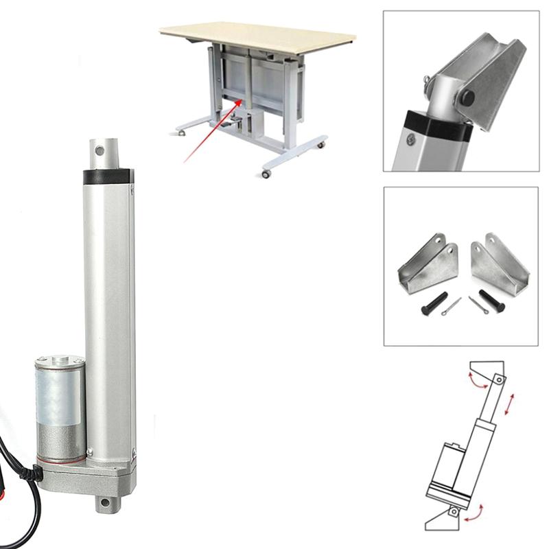 750N-4-18-Pulgadas-330Lbs-Dc12V-Motor-EleCtrico-Actuador-Lineal-para-Lectric-Sel miniatura 5